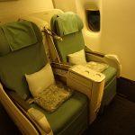 KE:大韓航空【B773ERビジネスクラス】KE628:ジャカルタ/スカルノ・ハッタ(CGK)-ソウル/仁川(ICN)