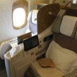 EK:エミレーツ航空【B773ERビジネスクラス】EK651:コロンボ(CMB)-ドバイ(DXB)