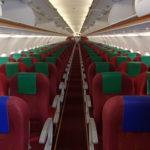 UO:香港エクスプレス航空【A320スイートシート】UO1638:香港(HKG)-福岡(FUK)