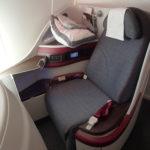 QR:カタール航空【B788ビジネスクラス】QR1362:MPM(マプト)-ドーハ(DOH)