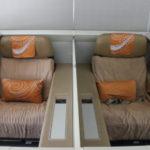 最新ジャンボ【中国国際航空『B747-8』ファーストクラス】CA985:北京(PEK)ーサンフランシスコ(SFO)