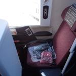 白服さんに叱られる!【JAL 777(W61)『SS2』ビジネスクラス】JL85:東京/羽田(HND)-上海/浦東(PVG)