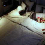 シンガポール航空【A380スイート】で念願のダブルベッド! SQ231:シンガポール(SIN)-シドニー(SYD)