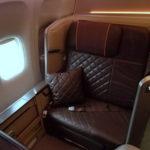 シンガポール航空【B777-300ER(77W)ファーストクラス】SQ2:シンガポール(SIN)-香港(HKG)