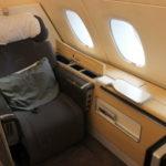 ルフトハンザ【A380ファーストクラス】LH760:フランクフルト(FRA)-デリー(DEL)