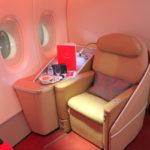 """エールフランス【A380ファーストクラス""""LA PREMIÈRE""""】AF995:ヨハネスブルグ(JNB)-パリ/シャルル・ド・ゴール(CDG)"""