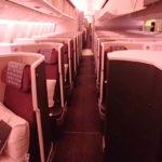 【JAL 777(W61)『SS2』ビジネスクラス】JL36:シンガポール(SIN)-東京/羽田(HND)