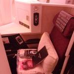 【JAL 777(W61)『SS2』ビジネスクラス】JL711:東京/成田(NRT)-シンガポール(SIN)