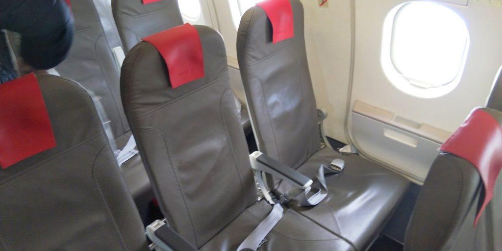 イベリア航空A320エコノミークラス