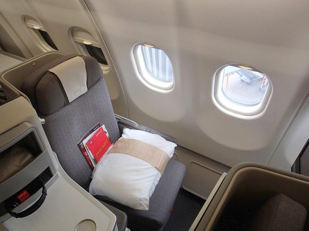 イベリア航空A333ビジネスクラス