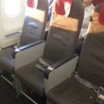 今度こそ足元の広い非常口座席を確保~イベリア航空【A321エコノミークラス】IB1745:バルセロナ(BCN)-マドリード(MAD)