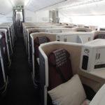 JALの789で『ビジネスクラス全52席を独占』~JL749:東京/成田(NRT)-デリー(DEL)